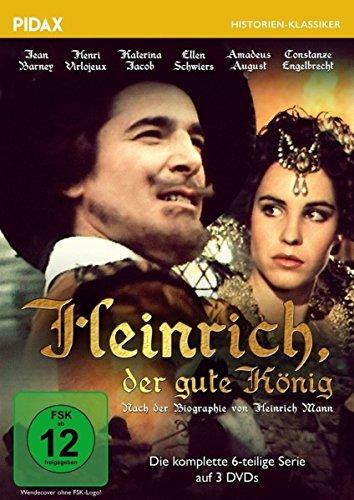 Bild von Heinrich, der gute König - Die komplette 6-teilige Serie nach der der Biographie von Heinrich Mann (Pidax Historien-Klassiker) [3 DVDs]