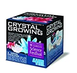Discover Science Crystal Growing Kit - Girls Boys Teenagers Children - Creative Experiments Set Birthday Present Gift Fun Toys & Games Idea Age 14+