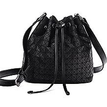 Vintage Marca Women-Bag Bolsa Bolsa Bolsa Cuchara Hombro GeoméTrica