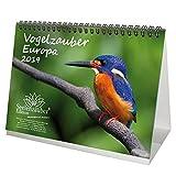 Vogelzauber Europa · DIN A5 · Premium Kalender/Tischkalender 2019 · Ornithologie · Feder · Vögel · Vogel · Fliegen · Natur · Tiere · Edition Seelenzauber