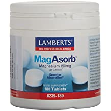Lamberts MagAsorb 150 mg - 180 Tabletas