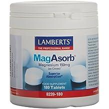 Lamberts MagAsorb 150 mg - 180 Tabletas