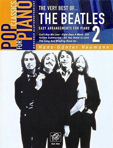 The Very Best Of... The Beatles Book 2: Songbook für Klavier