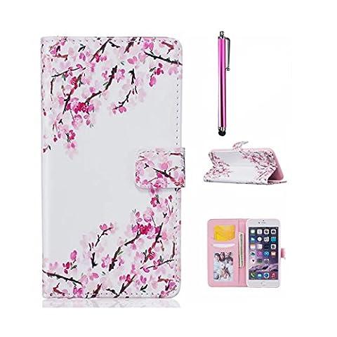 MUTOUREN Coque pour Huawei P8 Lite Bookstyle Étui Housse en
