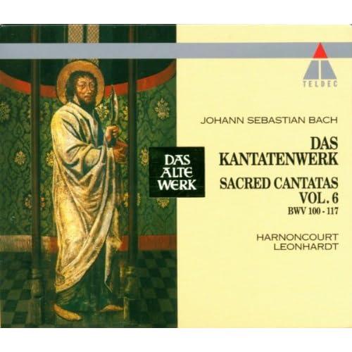 """Cantata No.114 Ach, lieben Christen, seid getrost BWV114 : III Recitative - """"O Sünder, trage mit Geduld"""" [Bass]"""