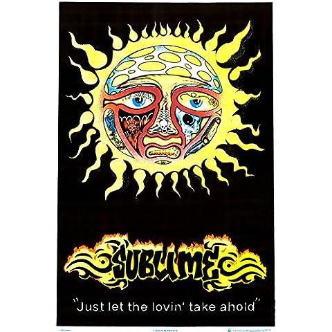 Sublime Sun Blacklight Poster (58,42 x 88,90 cm)