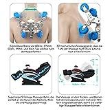 Naipo Shiatsu Ganzkörper Massagesessel mit S-Schiene, Heizungs-Therapie, Luft-Massage-System - 6