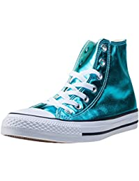 Converse All Star CT Scarpe Sneakers Alte hi Radio blu junior Uomo Donna-28