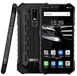 (2019) Ulefone Armor 6E - Android 9.0 Smartphone Rugged 4G,Helio P70 Octa-core Outdoor Cellulare 4 GB + 64 GB, 6,2' FHD + Schemo Notch, ricarica wireless supportata, impermeabile IP68, GPS/NFC Nero