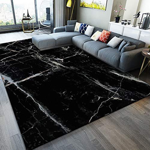LUYION- Nordicer Wohnbereich Teppich einfache Moderne geometrische Zimmer Teppich Teppich Couchtisch Matte Schlafzimmer Blanket Viereck,a,140x200cm -