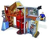Simba 109251062 - Feuerwehrmann Sam Feuerwehrstation mit Figur 30 cm Vergleich