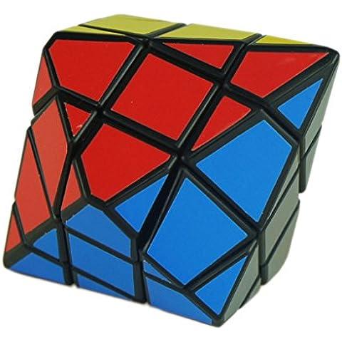 EOZY Color Por Azar Pirámide Hexagonal Cubo Mágico Juguetes Divertido Unisex 8*9.8cm