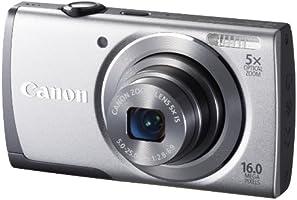 Canon 8162B012 PowerShot A3500 IS Fotocamera Compatta Digitale 16 Megapixel, Argento