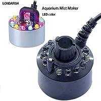 LONDAFISH LED-Brunnen-Nebel-Hersteller Fogger-Wasser-Brunnen-Aquarium-Luftbefeuchter