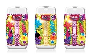 Tahiti Gel Douche Coco Paradise 250 ml - Lot de 4