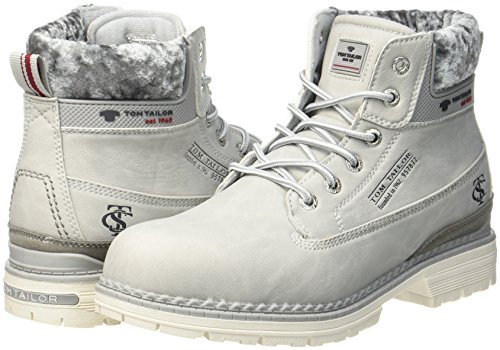 Tom Tailor Damen 3792901 Stiefel, Grau (Grey), 39 EU