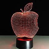 Best Los negros de Apple amigo - Apple Night Lights Etoile Lumineuse Flor Lámparas De Review
