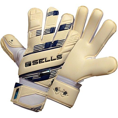 sells-v-v-pro-subzero-junior-goalkeeper-gloves-size-6-white-black-navy