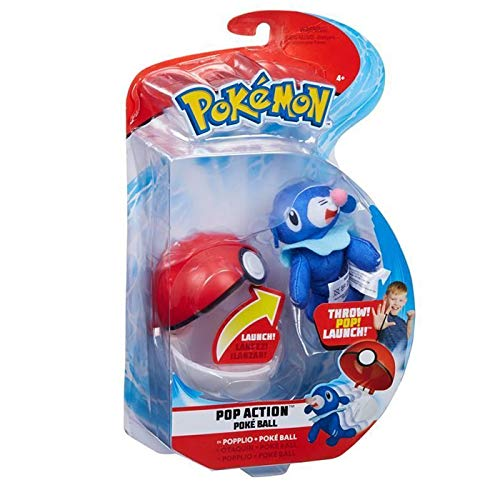 Echte Pokemon Pop Action Pokeball - Popplio & Pokeball