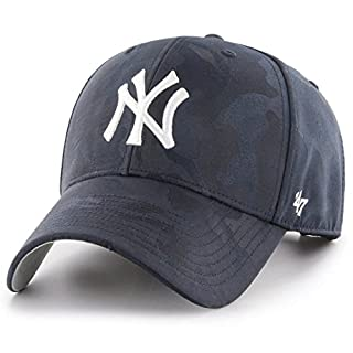 47Brand MVP Adjustable Cap NY Yankees B-JGSWM17TVS-NY Dunkelblau, Size:ONE Size