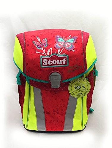 Scout - Sunny - Schulranzen Set 4 tlg. - Sweet Butterfly