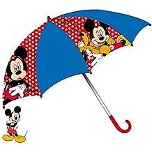 Paraguas azul azul Talla única
