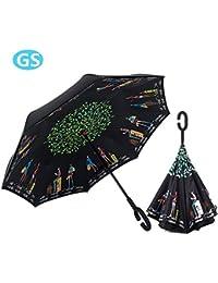 Cúpula De Paraguas Transparente Paraguas Romántico Cúpula Sakura ...