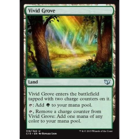 Magic: the Gathering - Vivid Grove (318/342) - Commander 2015 by Magic: the Gathering - Grove Singolo