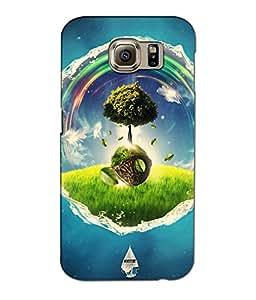 Crazymonk Premium Digital Printed 3D Back Cover For Samsung Galaxy S7 Edge