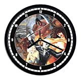 Wanduhr aus Kunststoff Otto Dix–The Seven Deadly Sins