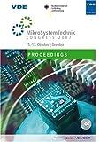 Image de MikroSystemTechnik KONGRESS 2007: 15.-17. Oktober, Dresden, Proceedings