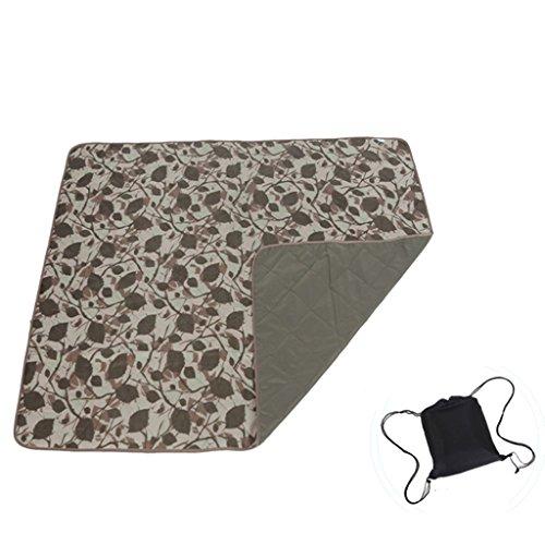 TYJ Picknick-Decken Maschinenwaschbar Oxford Tuch Picknickmatten Feuchtigkeitsbeständige Auflage Im Freien Zunahme Dickes Faltbares Portable Zelt Wasserdichter Teppich ( Farbe : #6 )