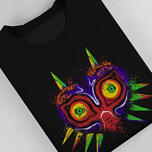 The Legend Of Zelda The Ancient Evil Majoras Mask Women's Sweatshirt Black