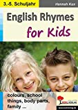 English Rhymes for Kids: colours, school, things, body parts, family ...
