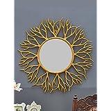 Venetian Design Golden Branches Wall Mirror