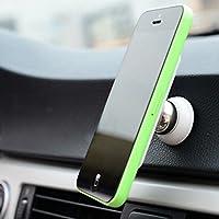 tianxiaw- ziqiao 360-Grad-Drehung Mini-Handy-Autohalterung Magnet Armaturenbrett-Halter für iPhone Samsung Smartphone GPS
