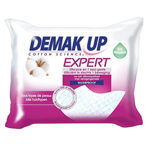 Demak'Up Expert - Lingette Démaquillante Tous Types de Peaux (3 paquets de 23 lingettes)