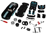 Maisto Ford Mustang VI Coupe Schwarz Ab 2014 Bausatz Kit 1/24 Modell Auto