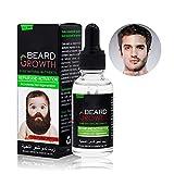 Beard Oil, Duvina Bartöl und Conditioner für Männer zur Bartpflege rein natürliche Bartpflege Intensive Bartpflege Natürlich Biologisch Bart Öl Natürliches organisches Haarwachstumsöl (30ml)
