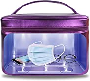 UV Portable Smartphone Sterilizer or Disinfection Box, 16 UV Lights Instantly Disinfect Tools, Face Mask, Keys