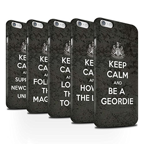 Offiziell Newcastle United FC Hülle / Matte Snap-On Case für Apple iPhone 6 / Pack 7pcs Muster / NUFC Keep Calm Kollektion Pack 7pcs