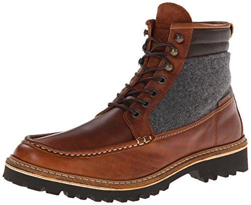 Wolverine Men's Ricardo Brown Leather/Wool Low-Top Sneakers Brown Size: 10 UK