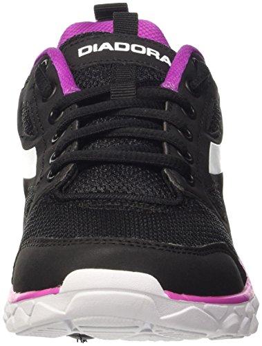 Diadora Hawk 6 W, Scarpe da Corsa Donna Nero (Nero/Bianco)