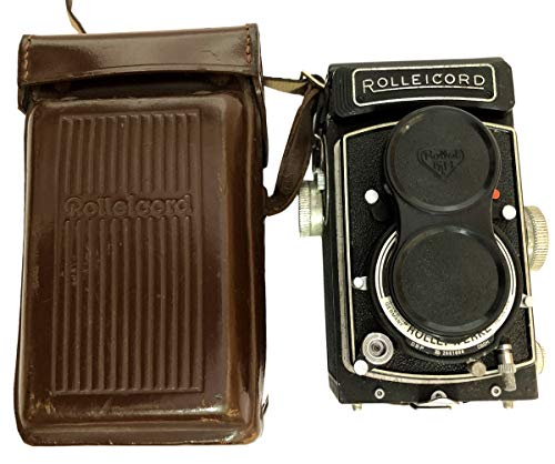 Antiques World Rolleicord Vb Type I, Vintage Antique Classic TLR 6 x 6 Cameras, Lens Schneider Xenar 1:3.5/75 AWUSAAC 09