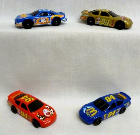 mcdonalds-nascar-hot-wheels-complete-happy-meal-set-1998
