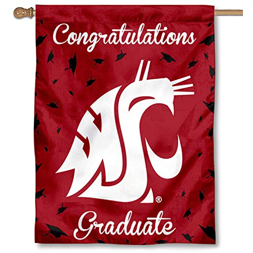 College Flags and Banners Co. Washington, State Cougars, Geschenk zum Abschluss