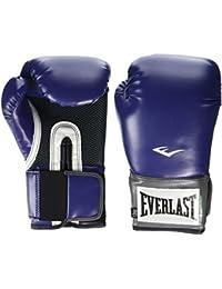 Everlast Pro Style - Guantes de boxeo de entrenamiento, color negro morado Black Orchid Talla:12 oz