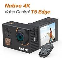 """ThiEYE T5 Edge Action Camera,Ture 4k/30fps,14MP,2.0"""" IPS-Bildschirm,Eis Wifi 60M Wasserdichte Sport Kamera mit Fernbedienung"""