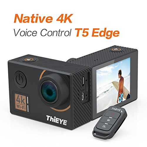 ThiEYE T5 Edge Caméra Sport Caméra d'action 4k Ultra HD 14MP avec...