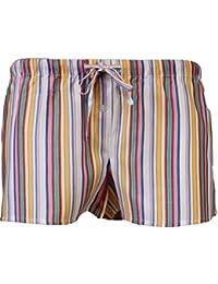 Citylife Webboxer Panty Shorty Hipster Boxershorts für Damen grün weiß gelb rot Sommer